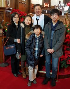 Minister - Rev. Matthew Suk-Ho Lee<